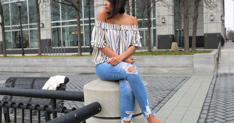 Cute Top & Jeans