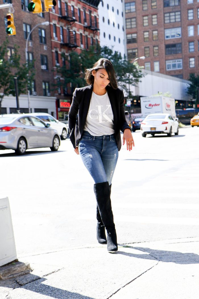 4 Tasteful Ways To Wear Over-The-Knee-Boots
