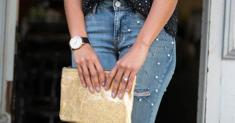 Fall Trend| Embellished Jeans | How To Wear Them Without Looking Tacky