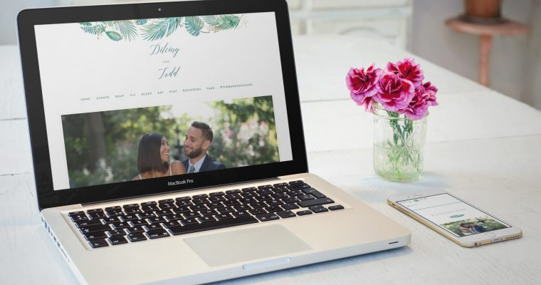 8 Essentials For Your Wedding Website