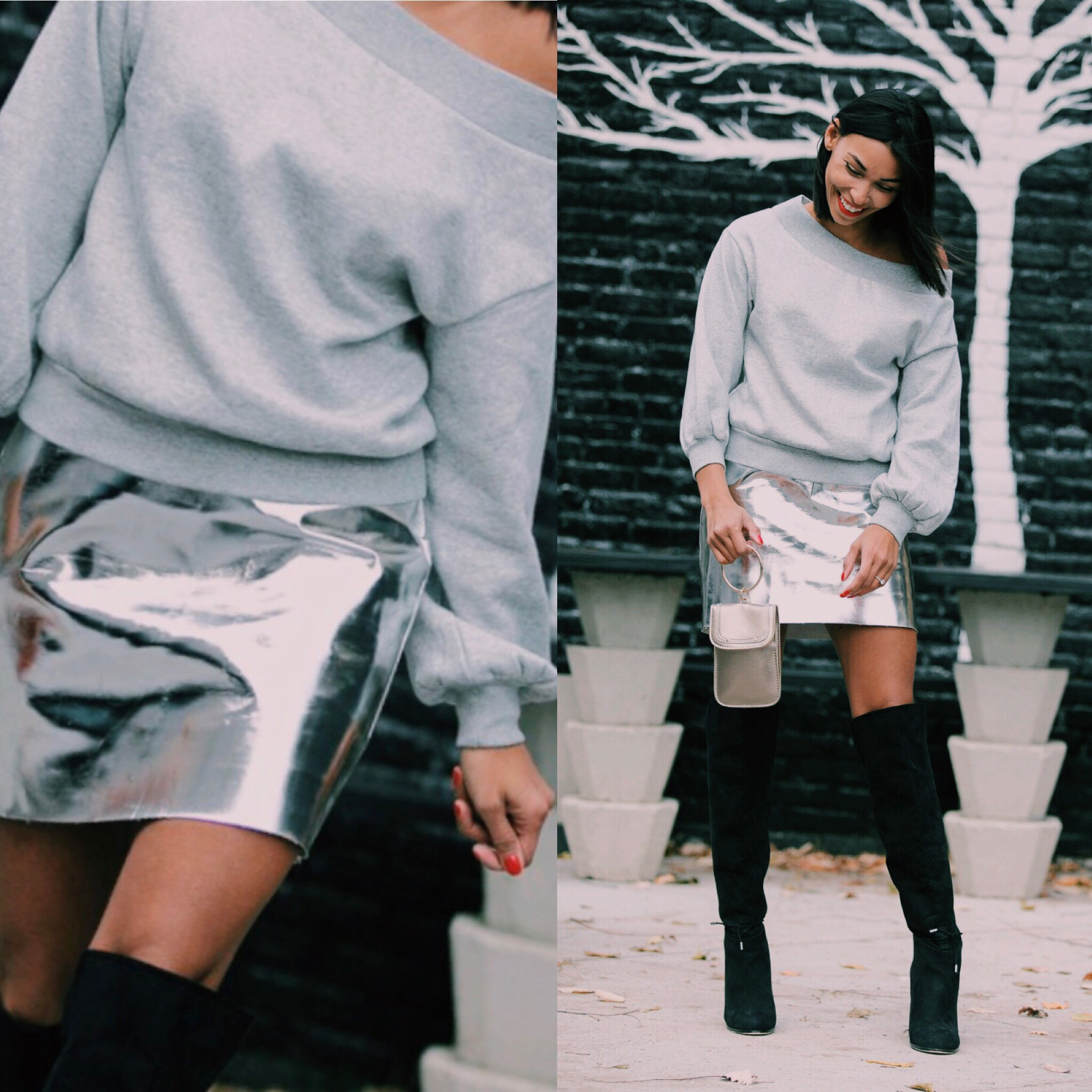 Holiday Style Tips| The Metallic Fashion Trend