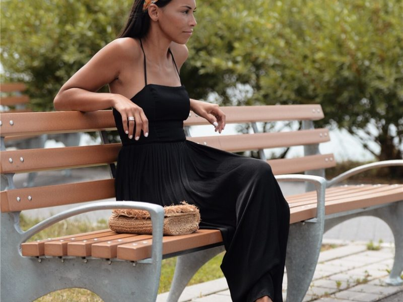 How To Make A Black Dress Summer Friendly