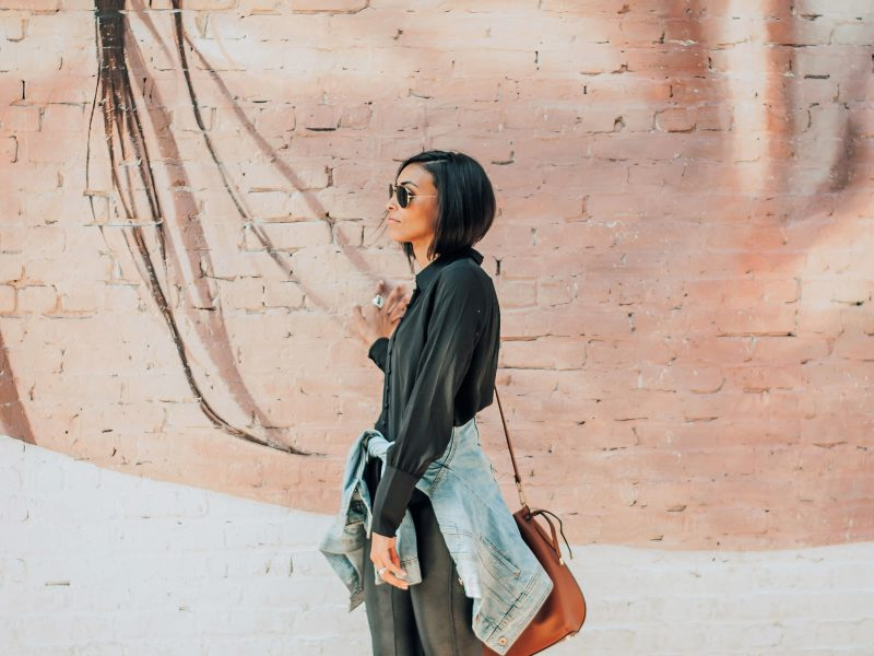 How To Tastefully Style Your Leather Leggings