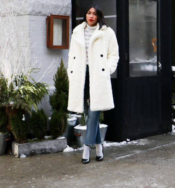 Holiday Style Tips | Make A Statement This Season With A White Coat