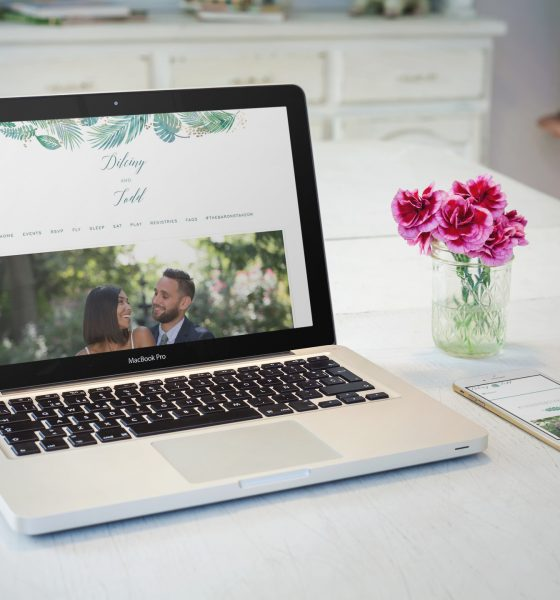 8 Essentials For Your Wedding Website