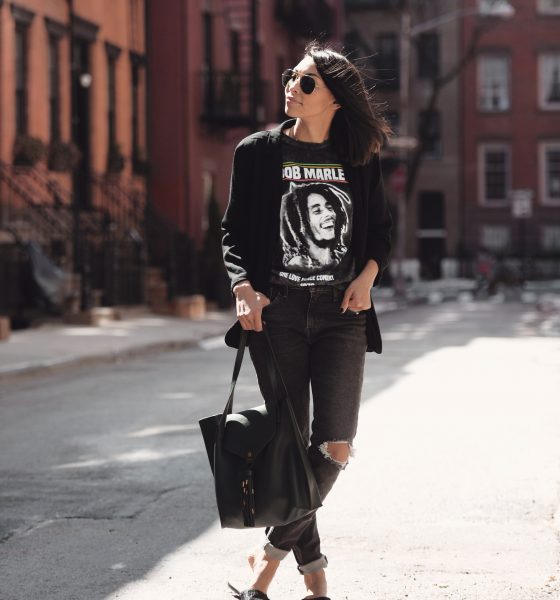 How To Wear A Graphic T-shirt When You're Over 30