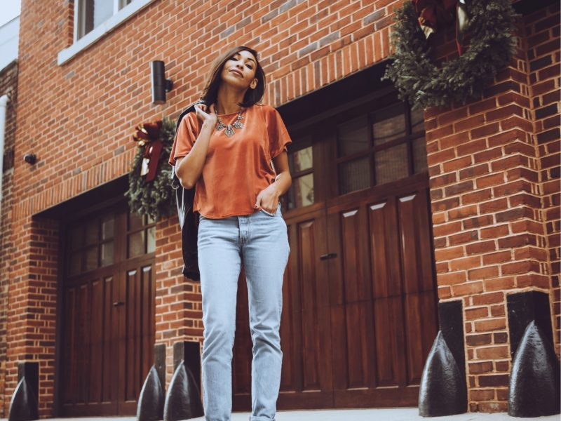 Check Out These Cool Velvet Tops You Can Pair With Jeans