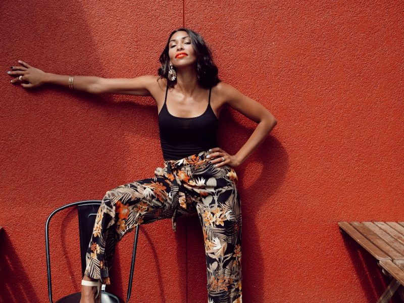How To Wear Printed Pants And Not Look Tacky